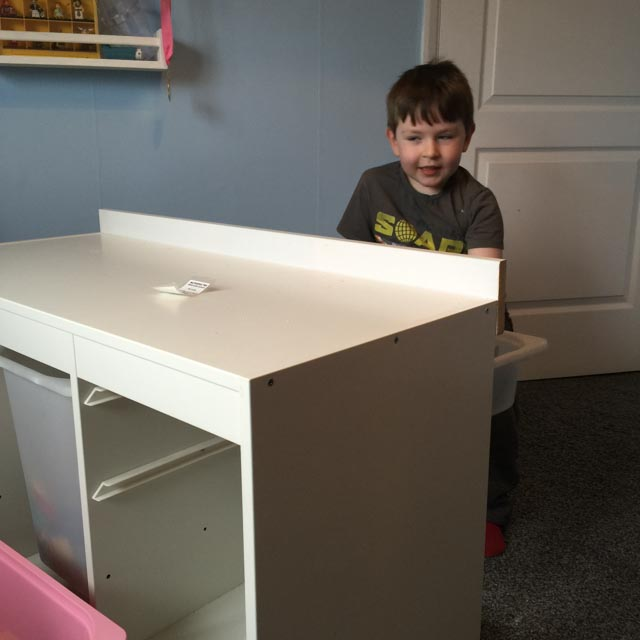 Ikea Hack for Lego Duplo game table