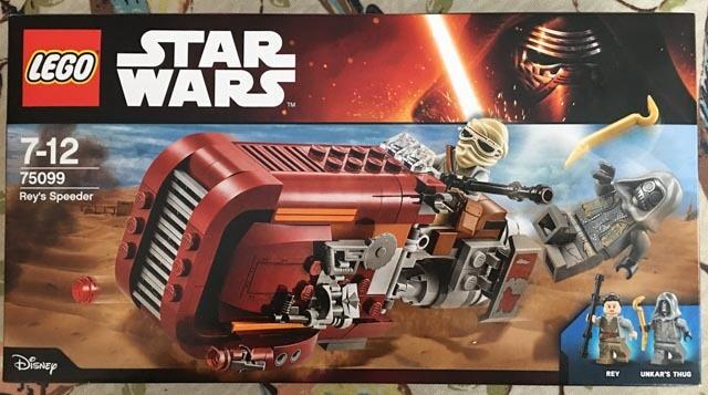 Lego set 75099 Rey's Speeder