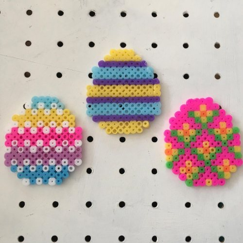 fuse bead Easter eggs