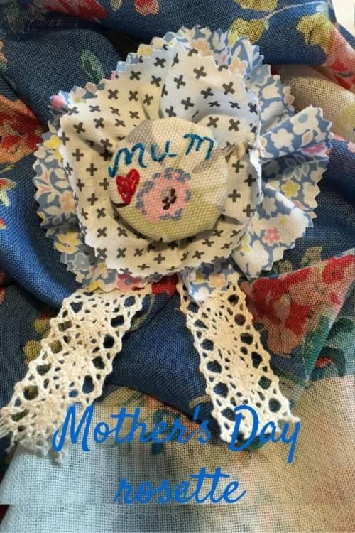 Mother's Day rosette