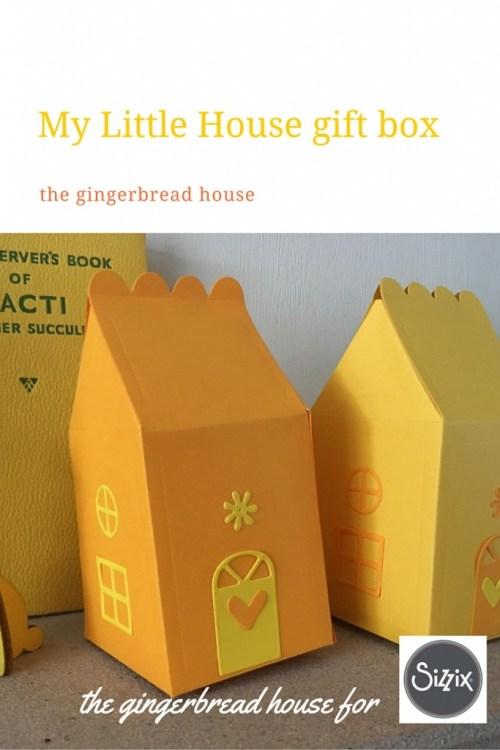 My Little House gift box die
