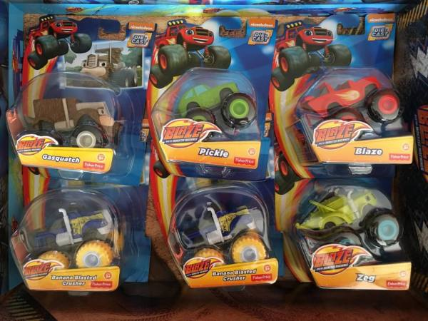 Blaze toy selection