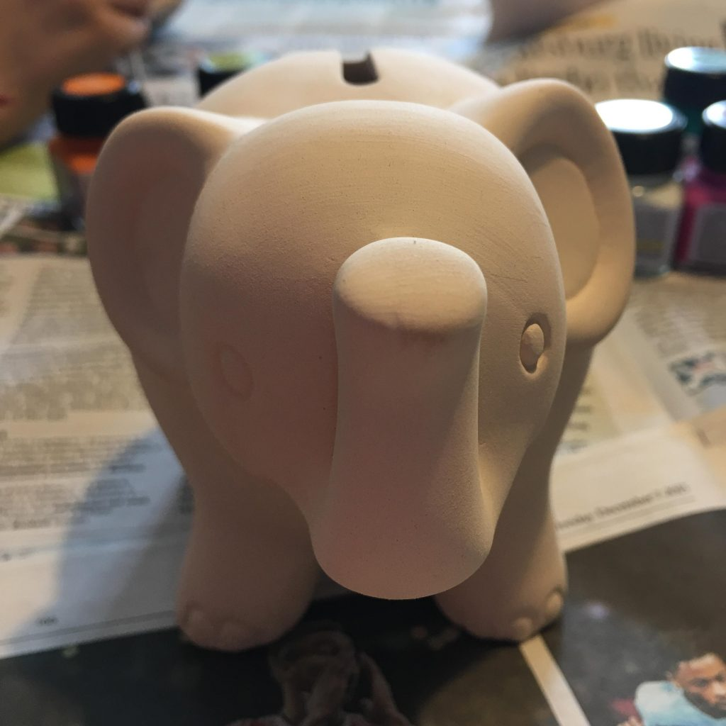 Painted elephants to celebrate Elmer Day