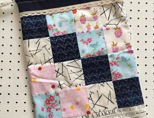 patchwork pouch