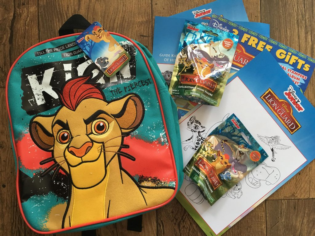 Lion Guard goody bag