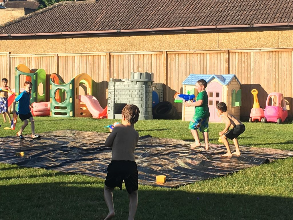 end of year water fight