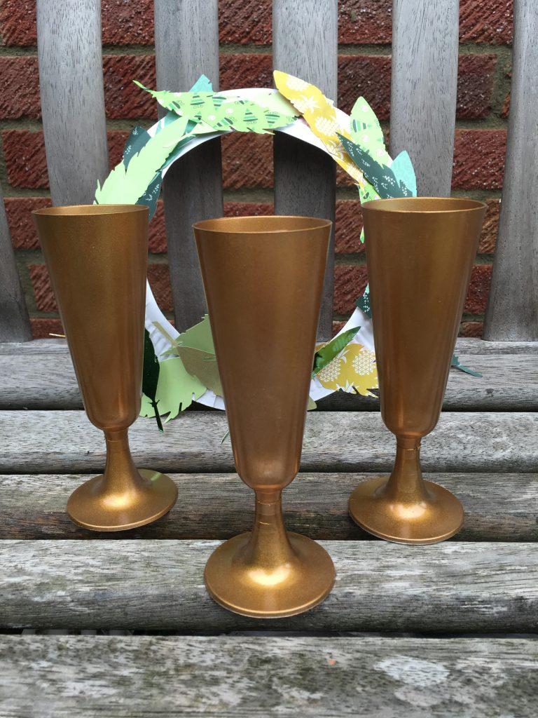DIY gold winners trophies