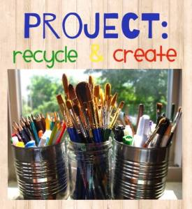Project: recycle and create blog hop