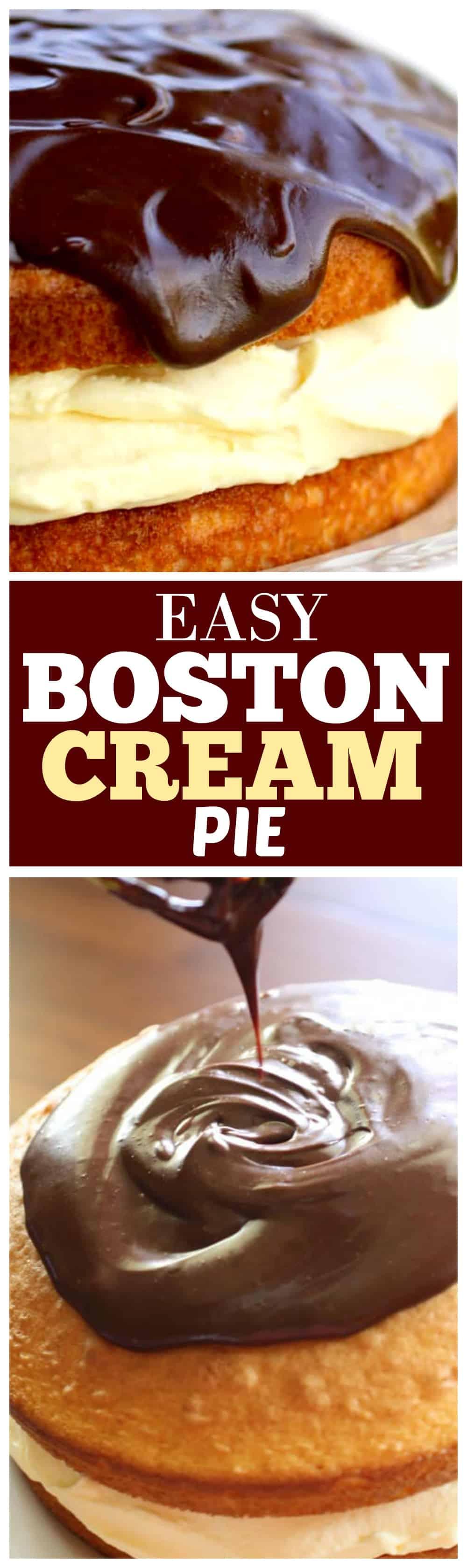 Betty Crocker Boston Cream Pie : betty, crocker, boston, cream, Boston, Cream, Everything