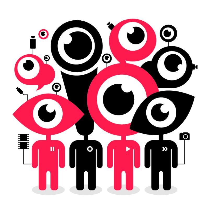Social Media: spying? Sentiment? Source of Data?  on April 9th 2015 Image Credit: EISF