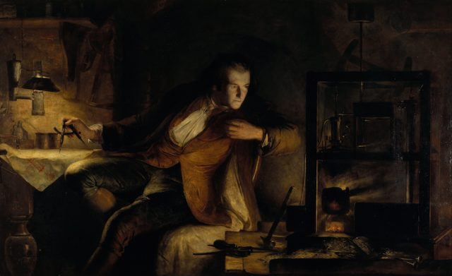 Image: James Eckford Lauder - James Watt and the Steam Engine