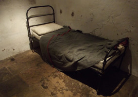 Prison bed from HM Prison Service Collection. Image credit: Elliott Brown via Flickr (CC BY 2.0 license)