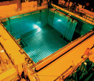 A spent fuel pool at the San Onofre Nuclear Generating Station near San Clemente, Calif.
