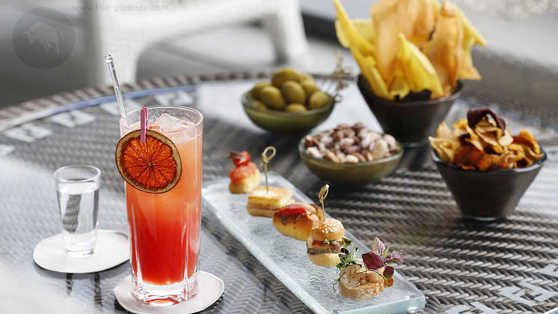 Bar Food Presentation Ideas From Excelsior Gallia Milan
