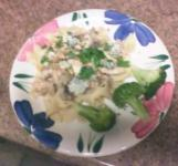 Chicken with Gorgonzola and Pistachios