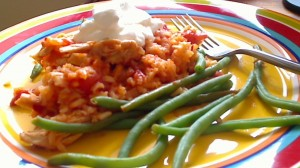 Chicken and Rice Paprika