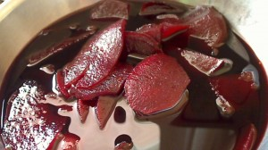 Pickeled Beets with Juniper Berries