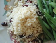 couscous with cranberry