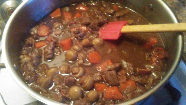 boeuf bourguignon beef burgandy stew