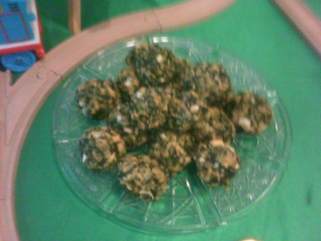 Spinach Balls Appetizer Snack