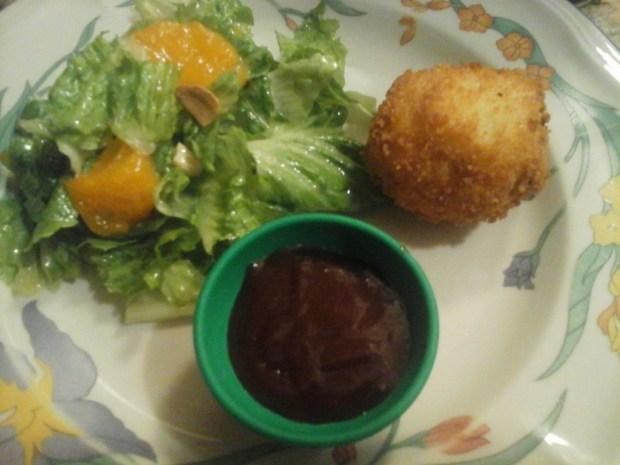 Meatloaf Stuffed Potato Balls