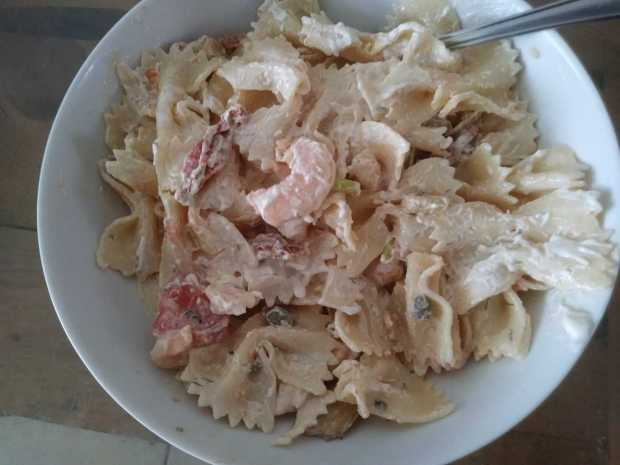 Seefood and Bows (Seafood and Farfalle)