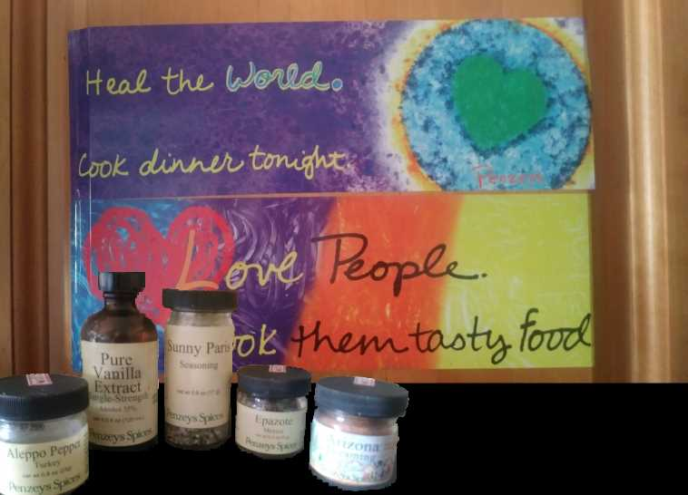 Penzey's Spices - Love People - Cook them Tasty Food - The