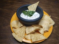 Spicy Tuna Dip with Chips