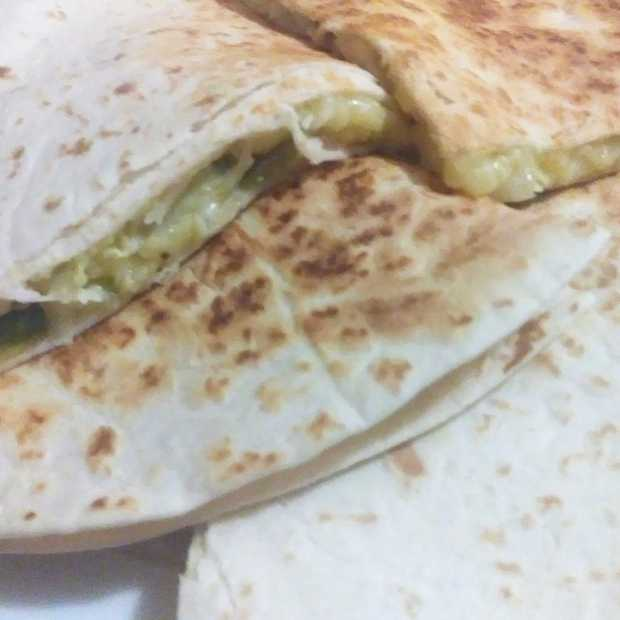 Quesadilla with Cabbage