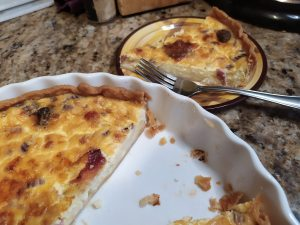 Completed Quiche
