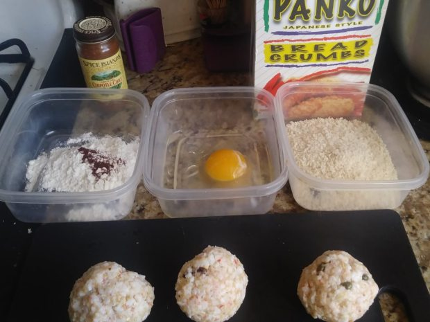 The Month of Burgers - Crab Balls