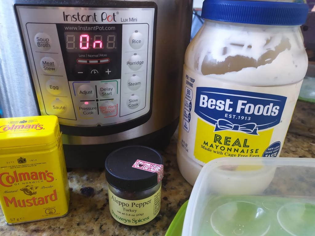 Deviled Eggs in the Instant Pot - Quick and Easy