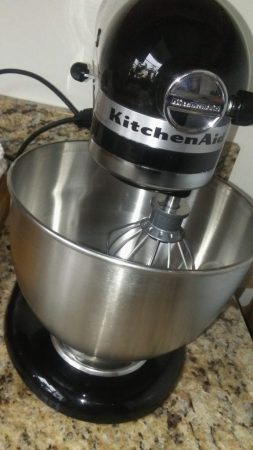 Kitchen Tools - the KitchenAid mixer