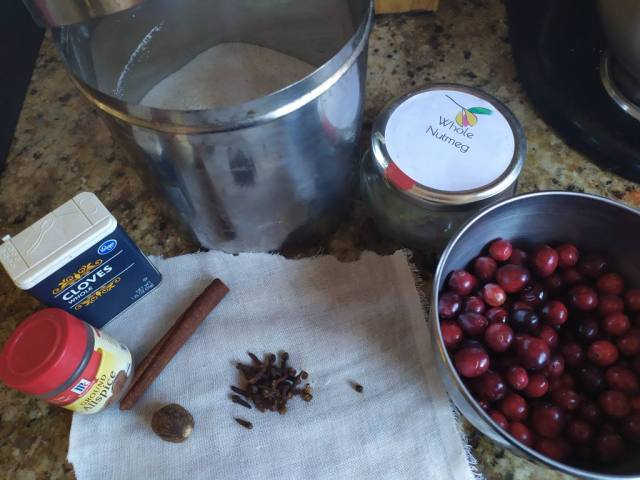 Spicy Cranberry Sauce - Easy to Make
