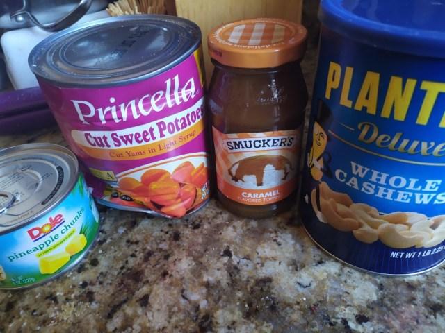 Caramel Sweet Potato Casserole