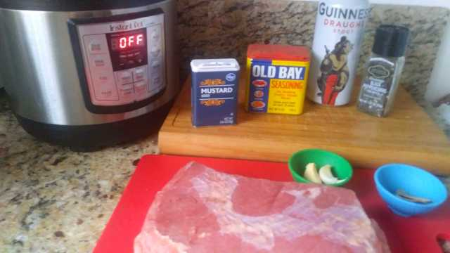 Corned Beef with Stout in the Instant Pot