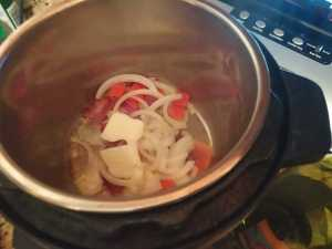Instant Pot White Cabbage with White Wine and Apples