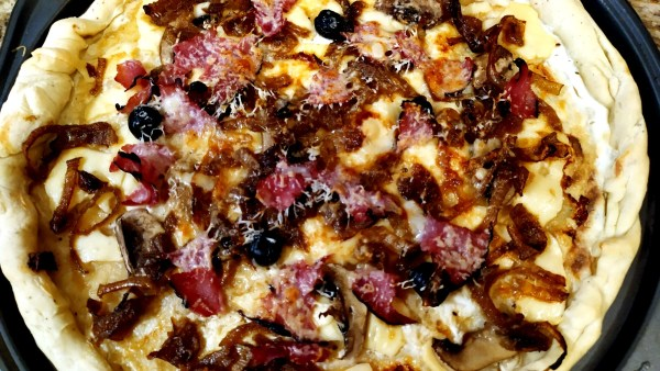 Alsatian Caramelized Onion Pizza