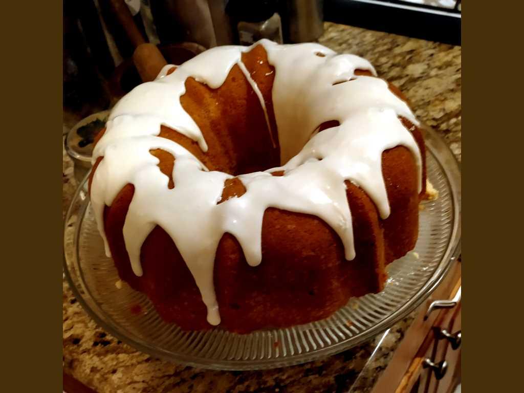 May Day Million Dollar Pound Cake