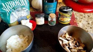 Instant Pot Risotto with Mushrooms and Saffron