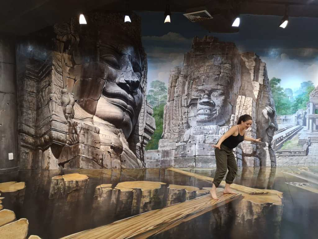 3D museum in Chiang Mai in Thailand