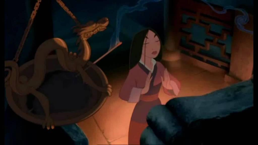 Mulan pray