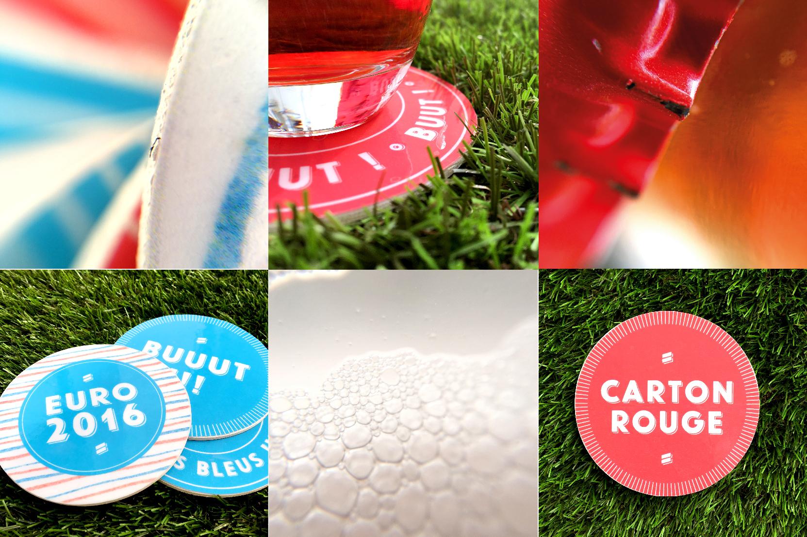 DIY - dessous de verre Euro 2016