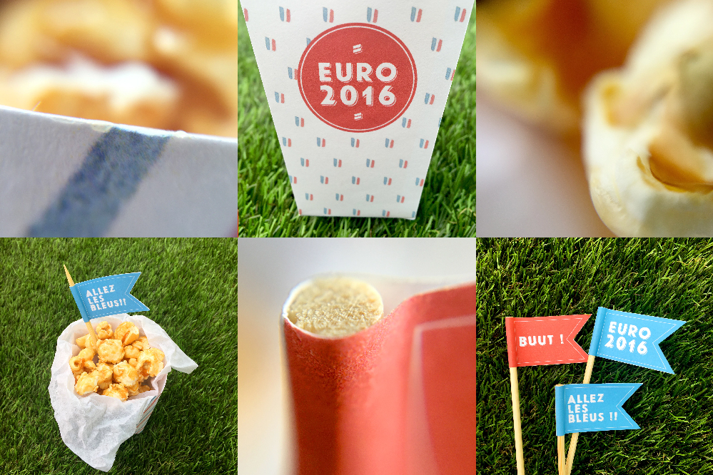 DIY - Box pop-corn Euro 2016