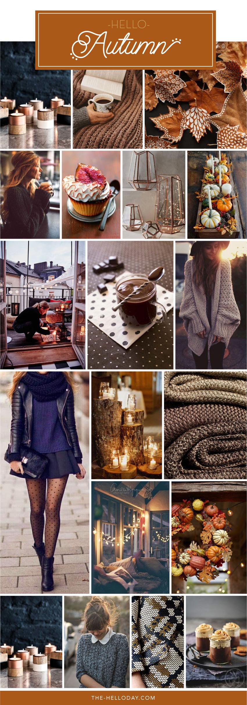 Pinterest - hello autumn