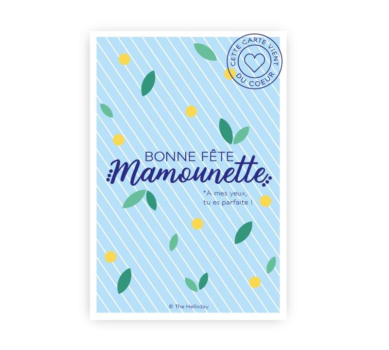 Carte postale - Bonne Fête Mamounette