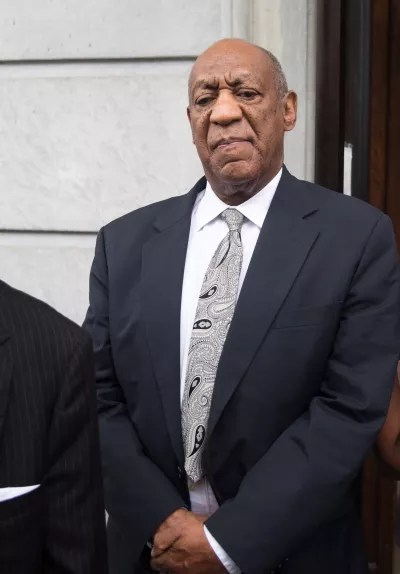 Bill Cosby in a Suit
