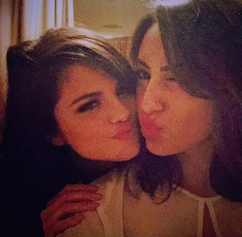 Selena gomez and Francia Raisa