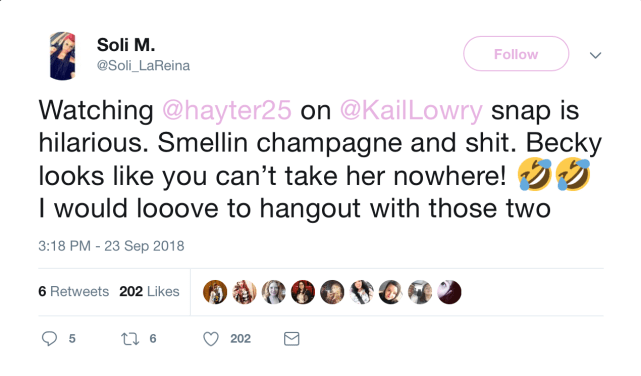 Kail and becky tweet