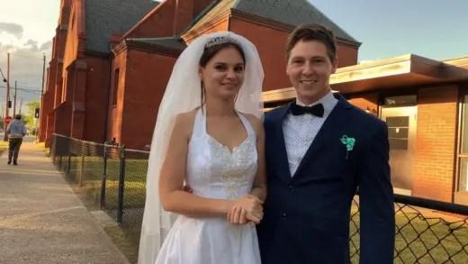 Julia Trubkina and Brandon Gibbs Are Married!